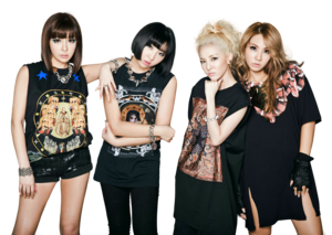 2ne1 png  render  by gajmeditions d6iqpe9